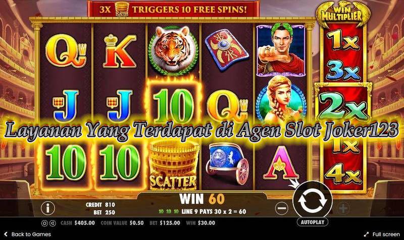 Layanan Yang Terdapat di Agen Slot Joker123